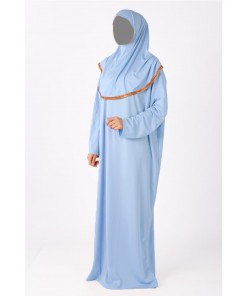 Baby blue prayer wear