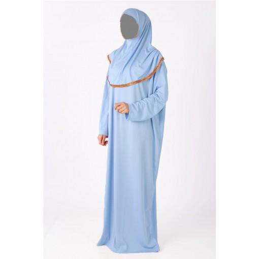 Baby blue prayer wear
