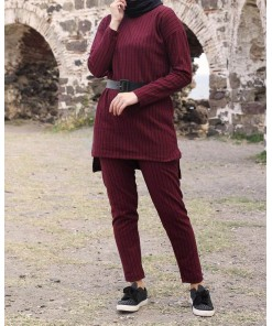 Claret red Tracksuit