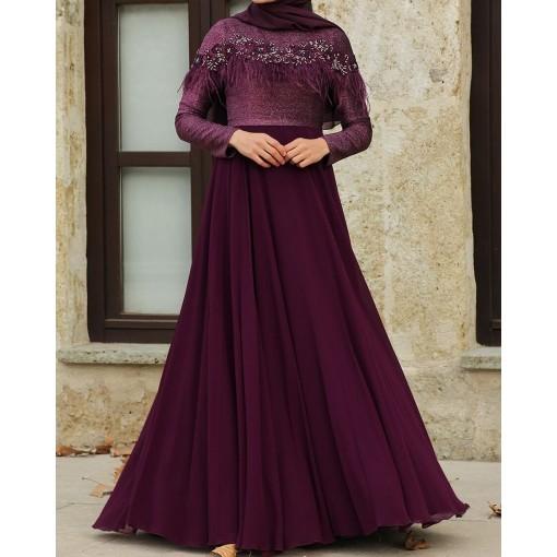 Häiry Purple Dress