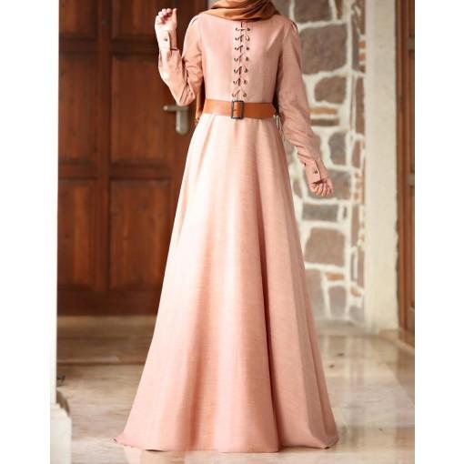 Mina powder pink dress
