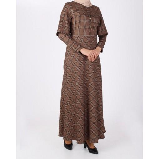 Plaid vision dress
