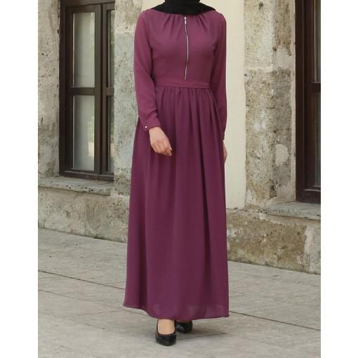 Rose colour dress