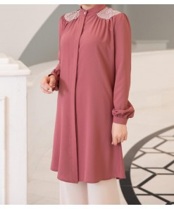 Rose colour tunic