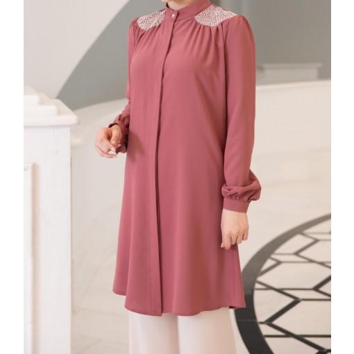 Rose colour tunic