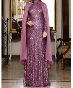 Sahsahen rose evening dress
