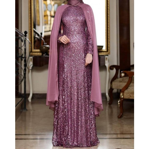 Sahsahen rose evening dress