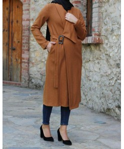 Tan colour coat