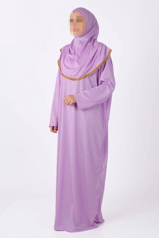 Lila abaya