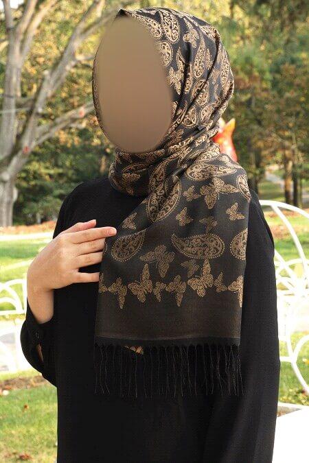 black-patterned