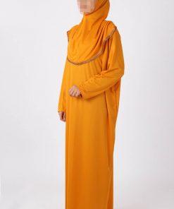 bright musturd abaya