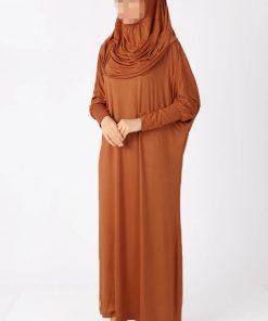brown vision abaya