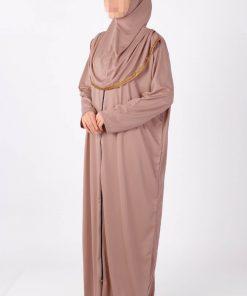 vision zipped abaya