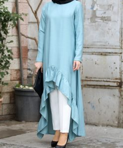 Blue_tunic_and_ecru_pant_suit