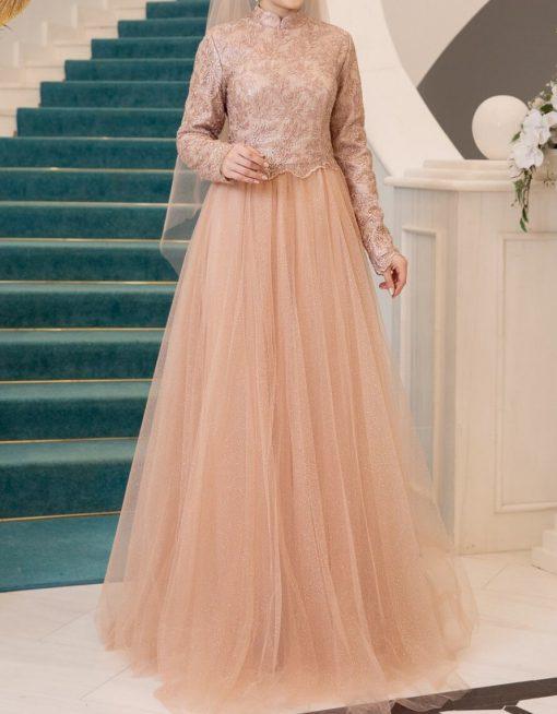 coppertone evening dress