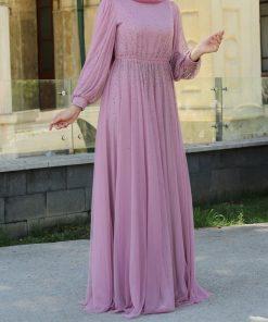 beaded lila_evening_dress