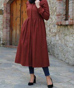 brick coat