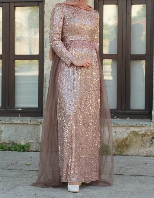 sequin_detailed_coppertone_evening_dress_anh_