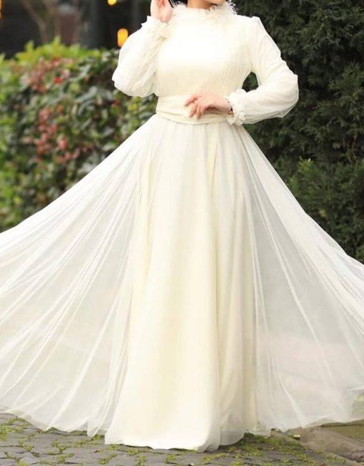ecru_evening_dress