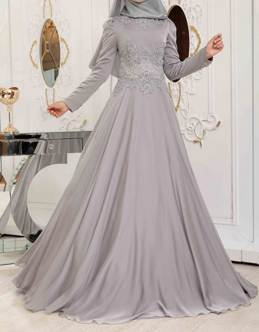 grey exclusive gown