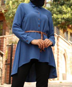 Indigo blouse