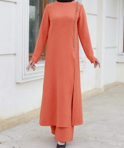 orange_tunic_and_pant_suit
