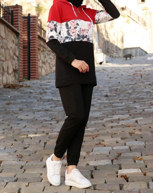 Black tunic and pant